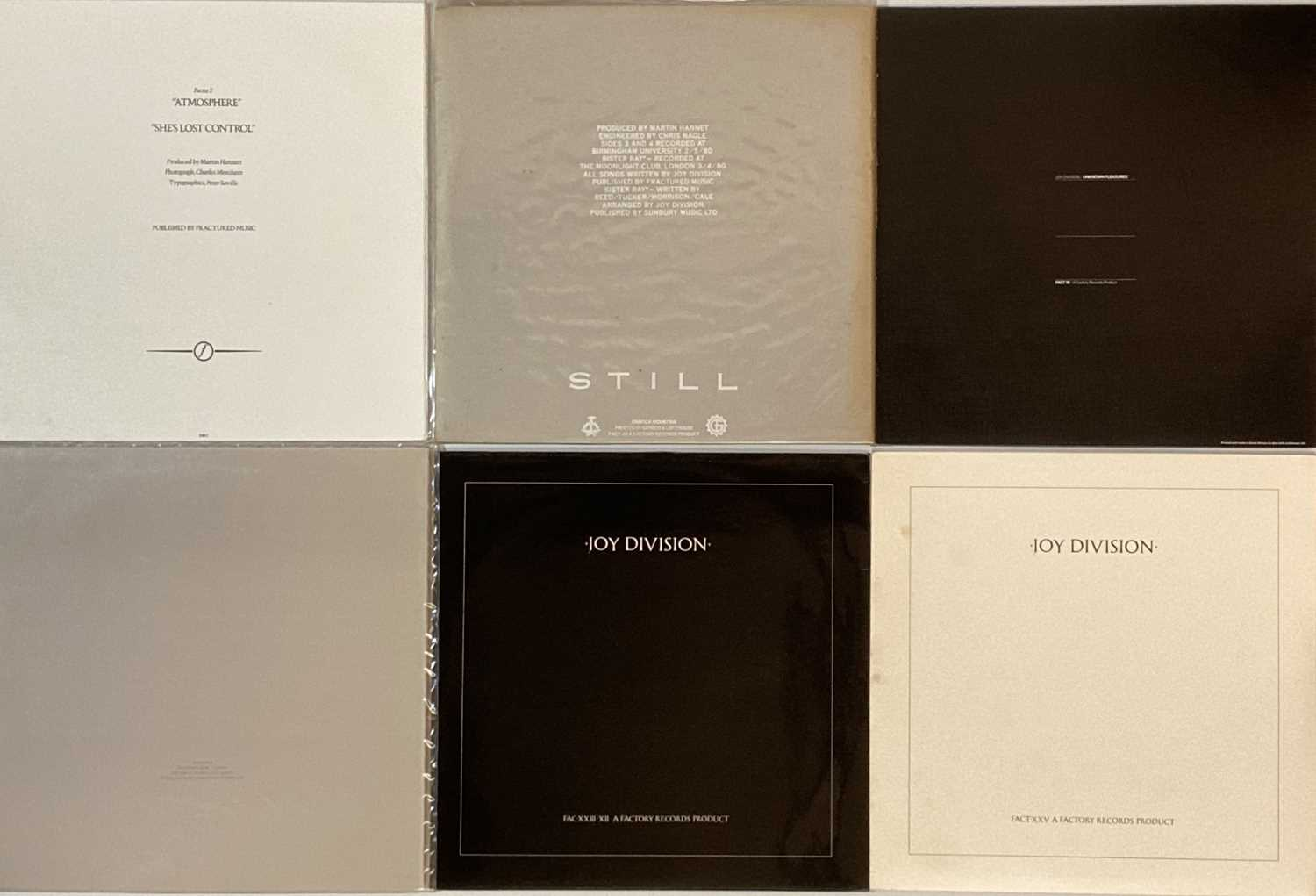 """JOY DIVISION/ NEW ORDER - LPs/ 12"""" - Image 2 of 2"""