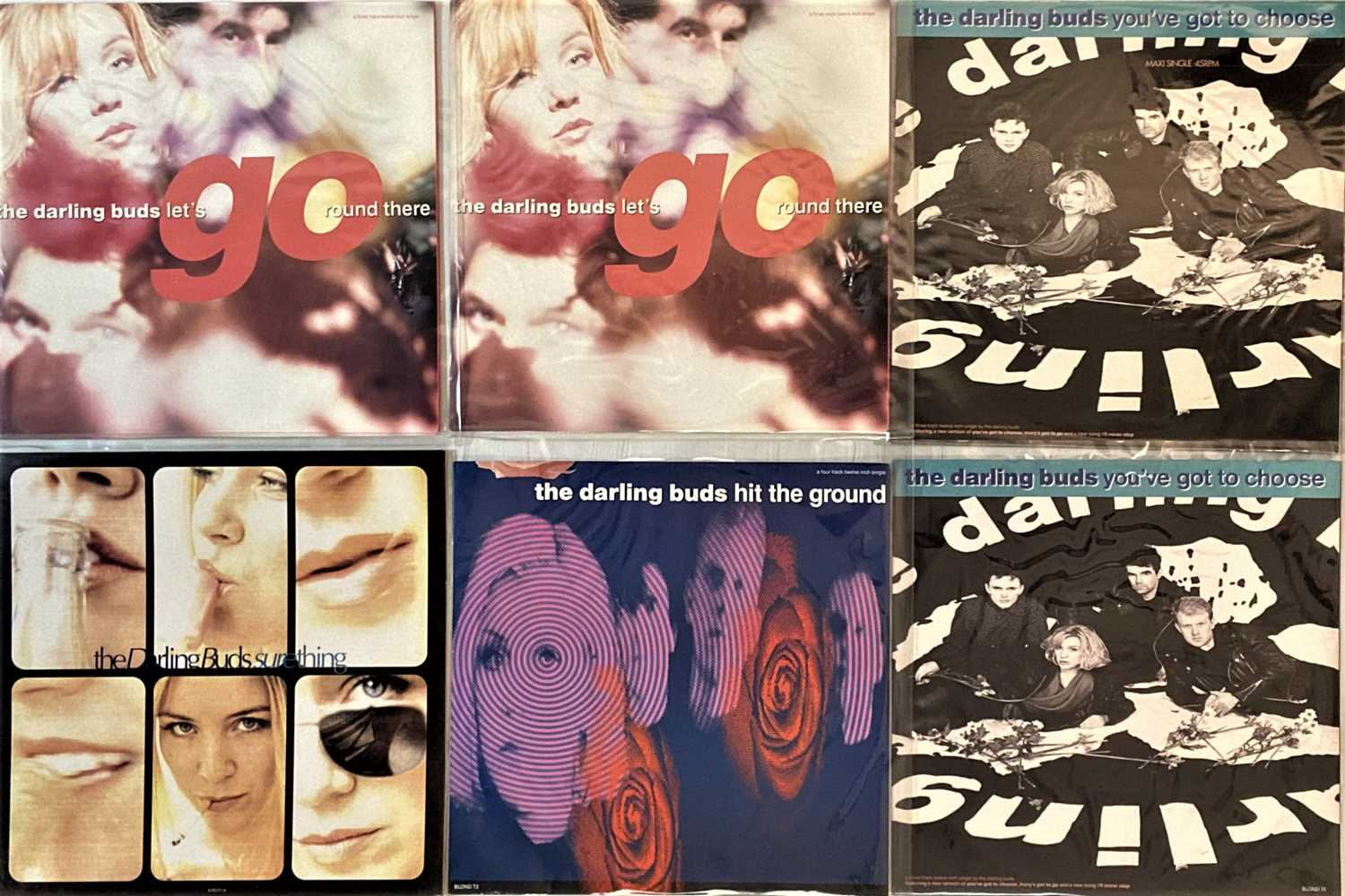 """THE DARLING BUDS - LPs/ 12"""" - Image 3 of 4"""