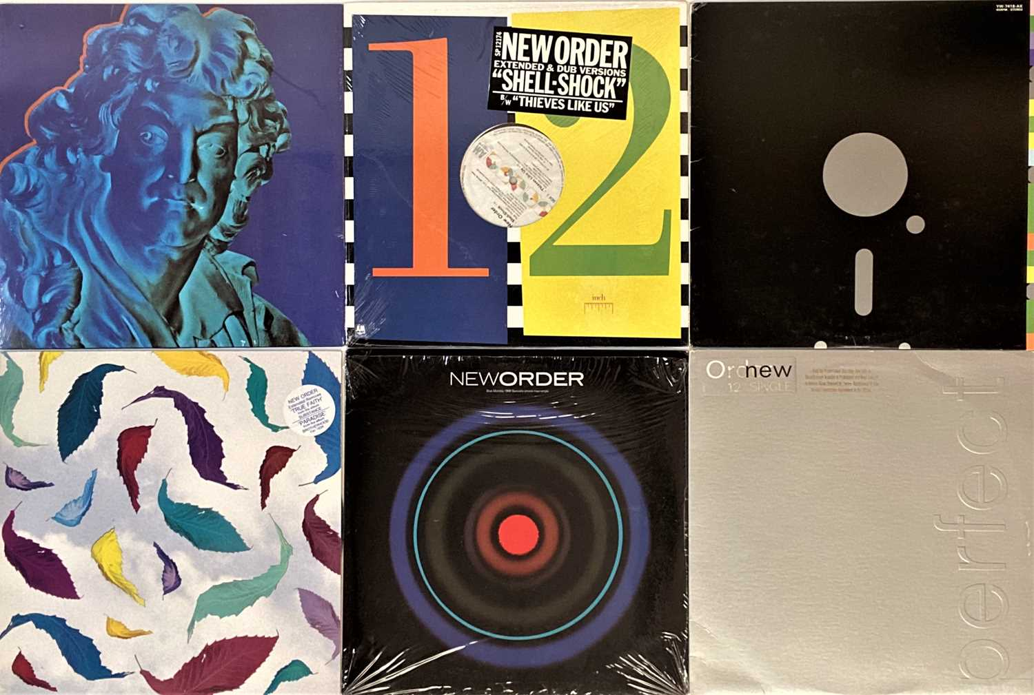 """NEW ORDER - US LP/12"""" COLLECTION - Image 3 of 3"""