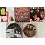 """THE STONE ROSES - 7"""" COLLECTION (PRIVATE/FAN RELEASES)"""