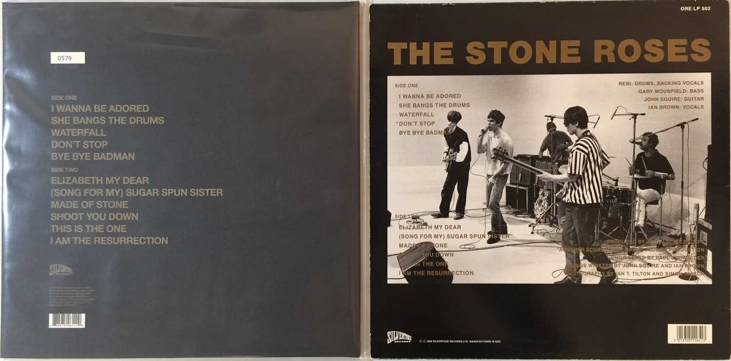 THE STONE ROSES - THE STONE ROSES LPs (ORIGINAL & LIMITED EDITION UK COPIES) - Image 2 of 4
