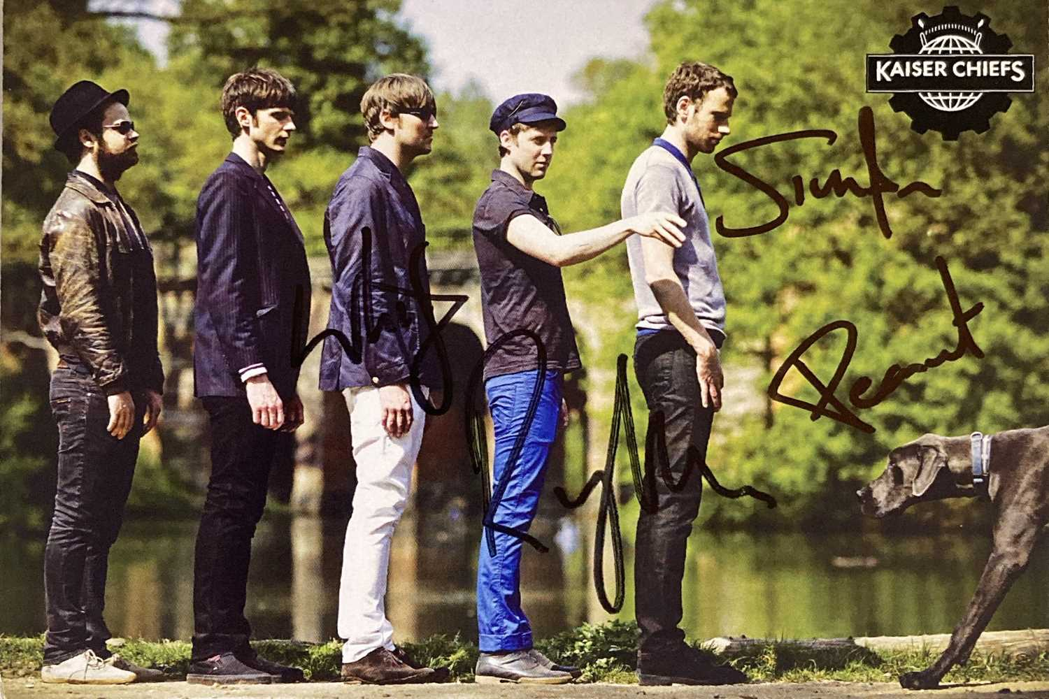 INDIE ARTISTS SIGNED ITEMS - HARD FI. - Image 11 of 11