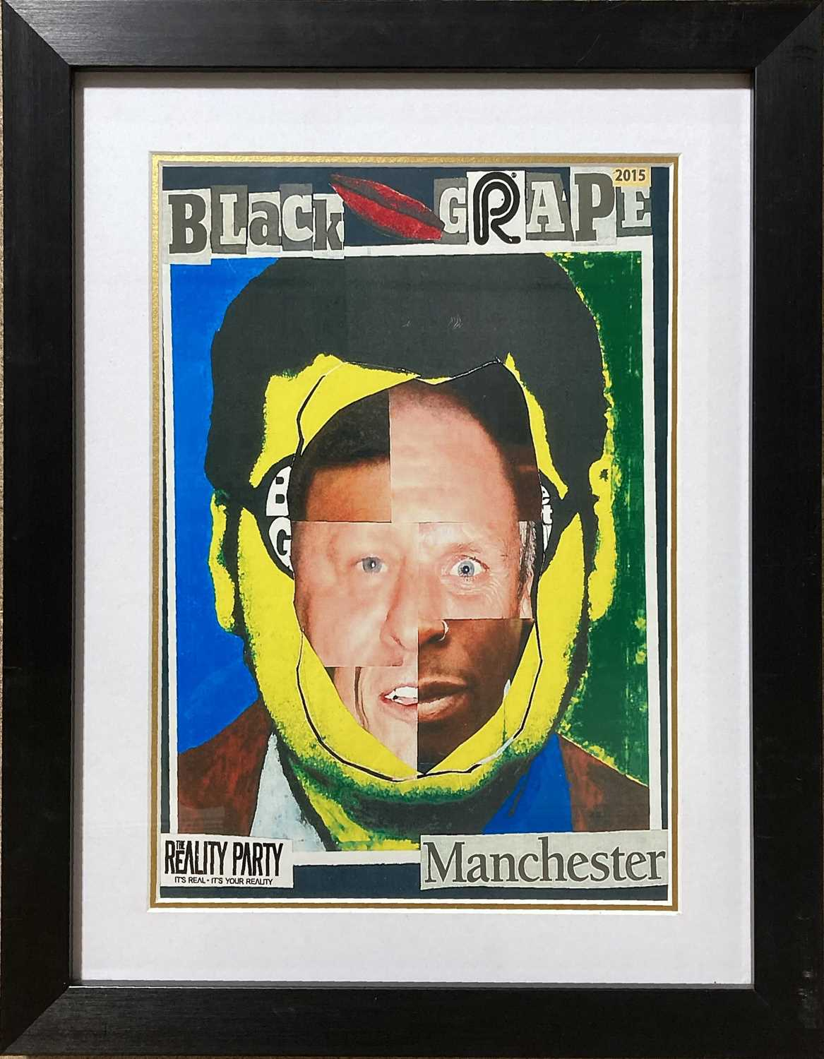 STONE ROSES / BLACK GRAPE POSTERS. - Image 5 of 5