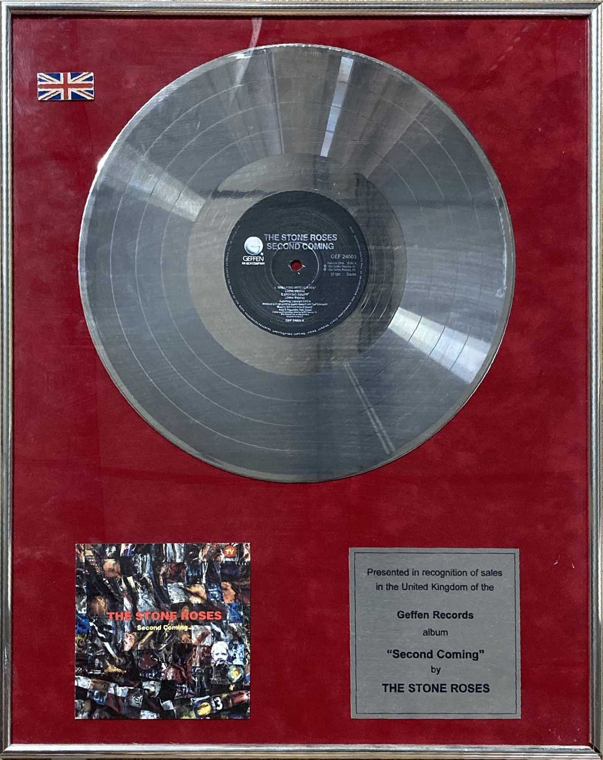 STONE ROSES SECOND COMING AWARD.
