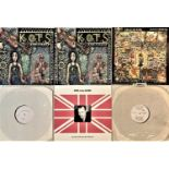 """KING OF THE SLUMS - LPs/ 12""""/ 7"""""""