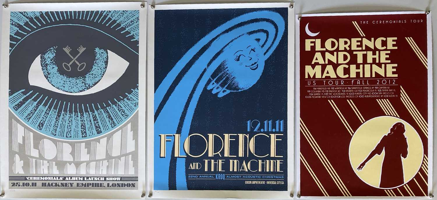 FLORENCE AND THE MACHINE LIMITED EDITION POSTERS.