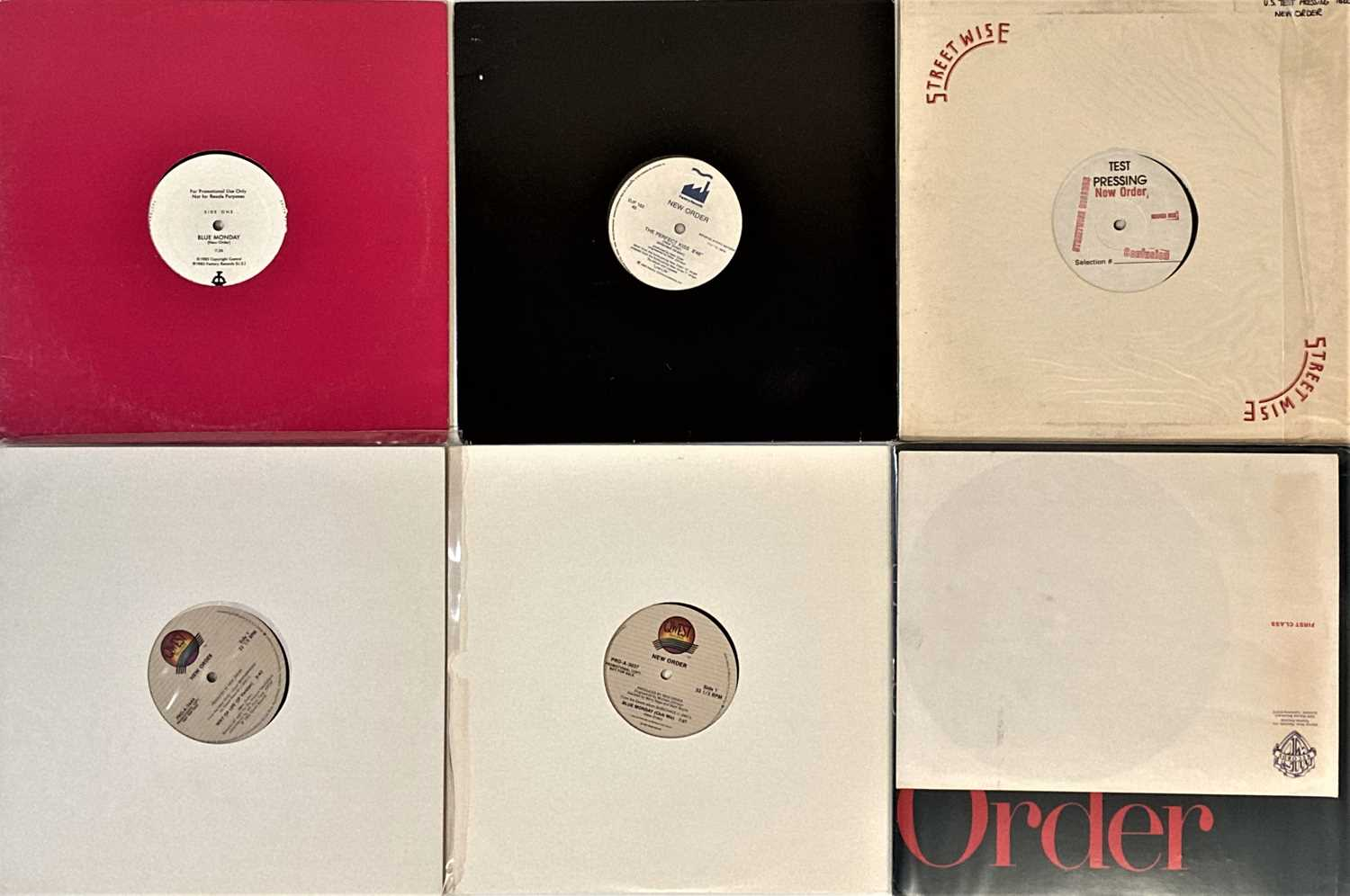 """NEW ORDER - US 12"""" PROMOS."""