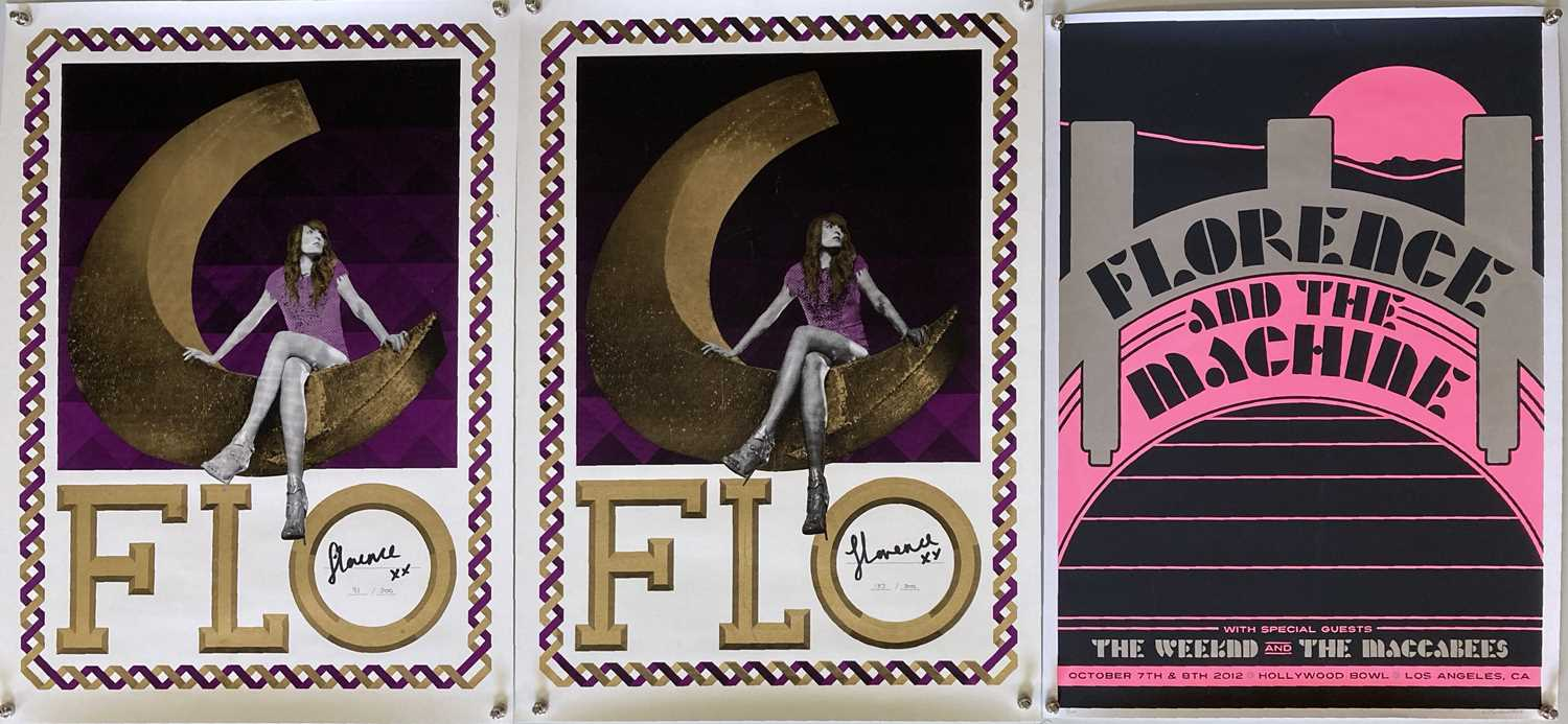 FLORENCE AND THE MACHINE LIMITED EDITION POSTERS. - Image 2 of 4