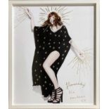 FLORENCE AND THE MACHINE - 1/1 RANKIN 'DESTROY' PRINT.