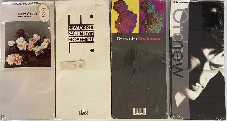 NEW ORDER CD SETS / VHS.