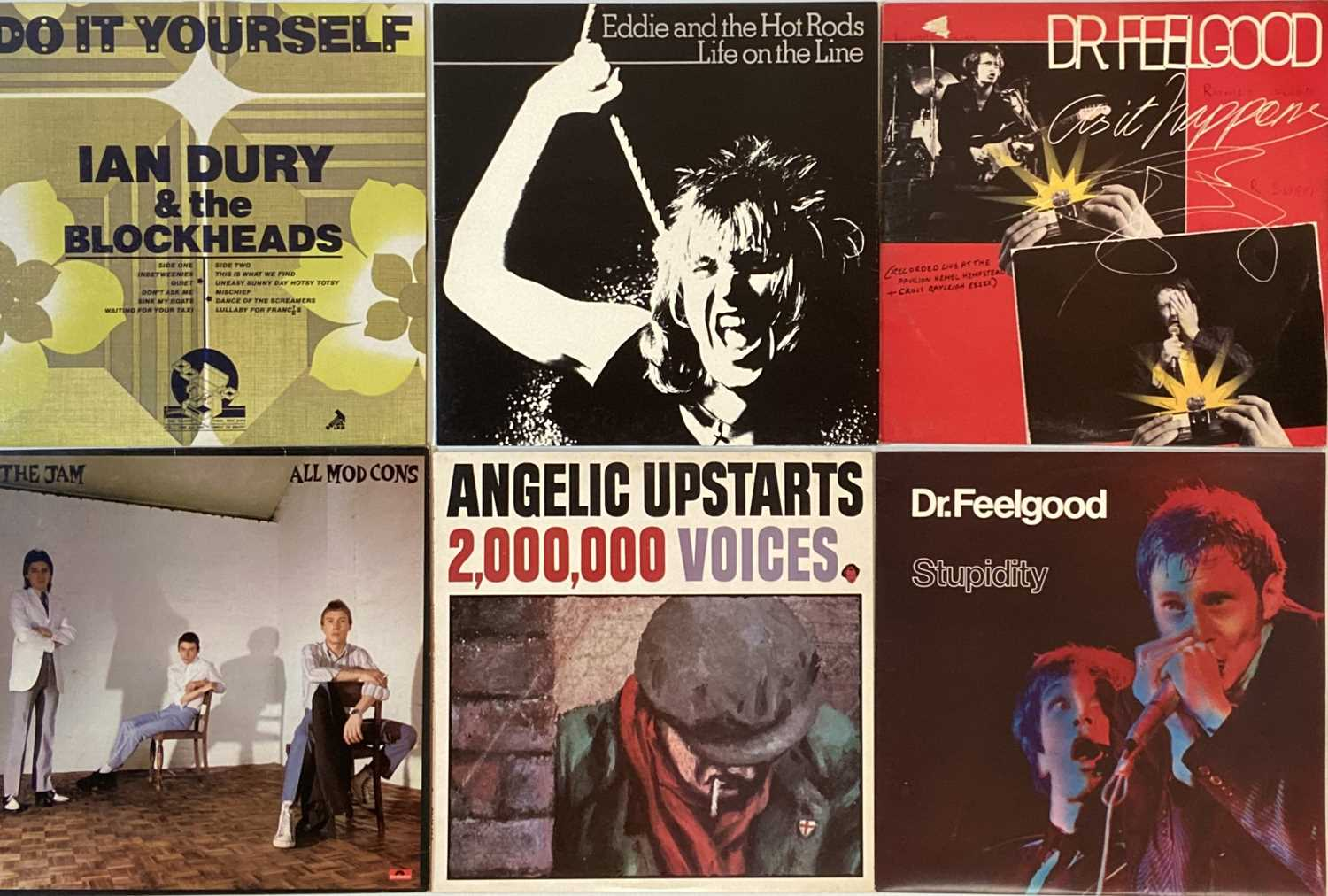 CLASSIC PUNK & NEW WAVE - LPs. - Image 2 of 3