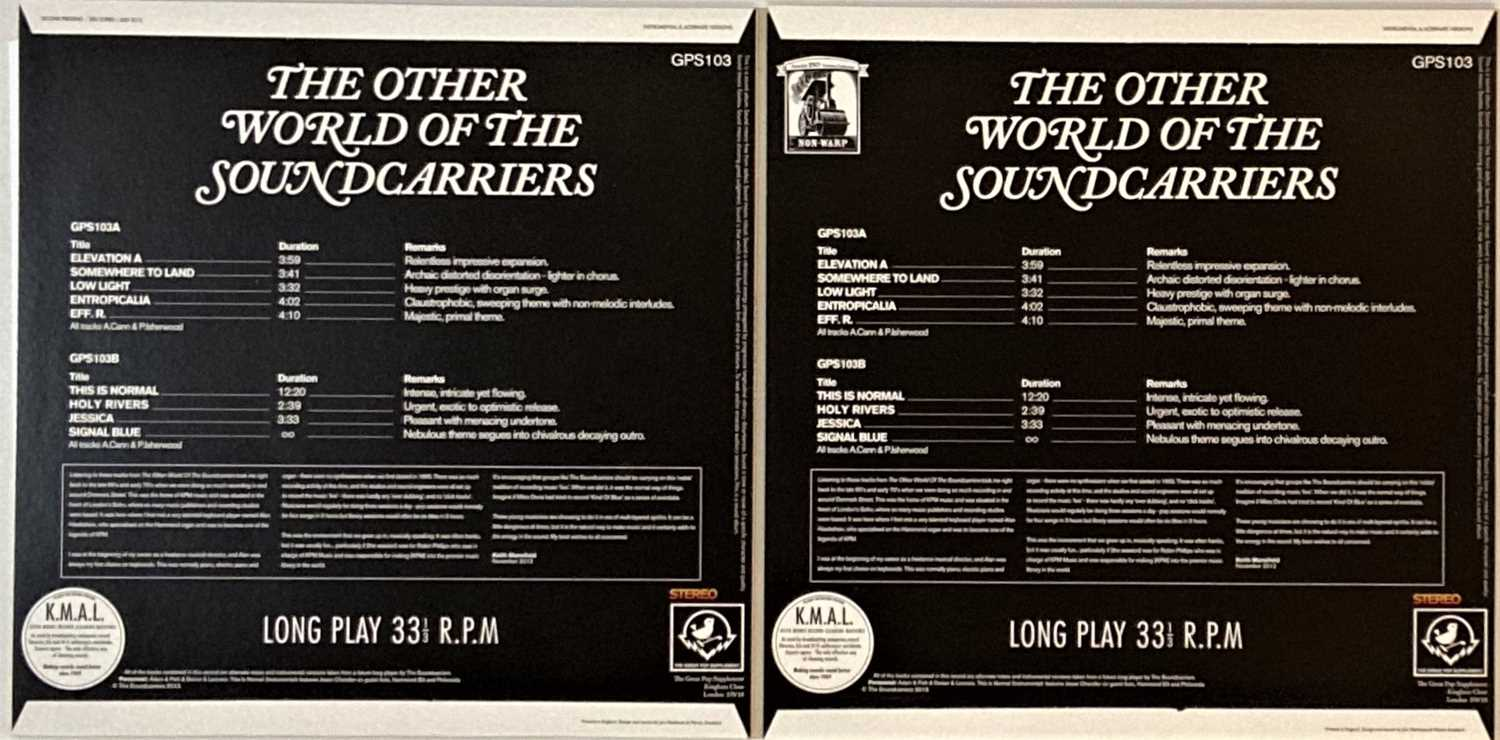 THE SOUNDCARRIERS - THE OTHER WORLD OF THE SOUNDCARRIERS LPs (GPS103) - Image 2 of 2