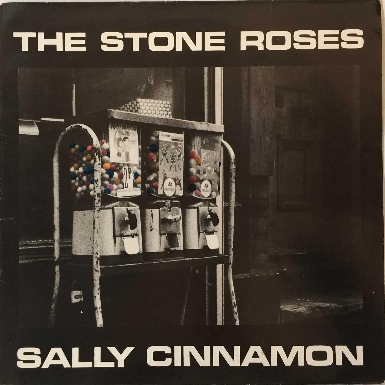 "THE STONE ROSES - SALLY CINNAMON 12"" (ORIGINAL UK PRESSING - 12 REV 36 'NO BARCODE') - Image 2 of 5"