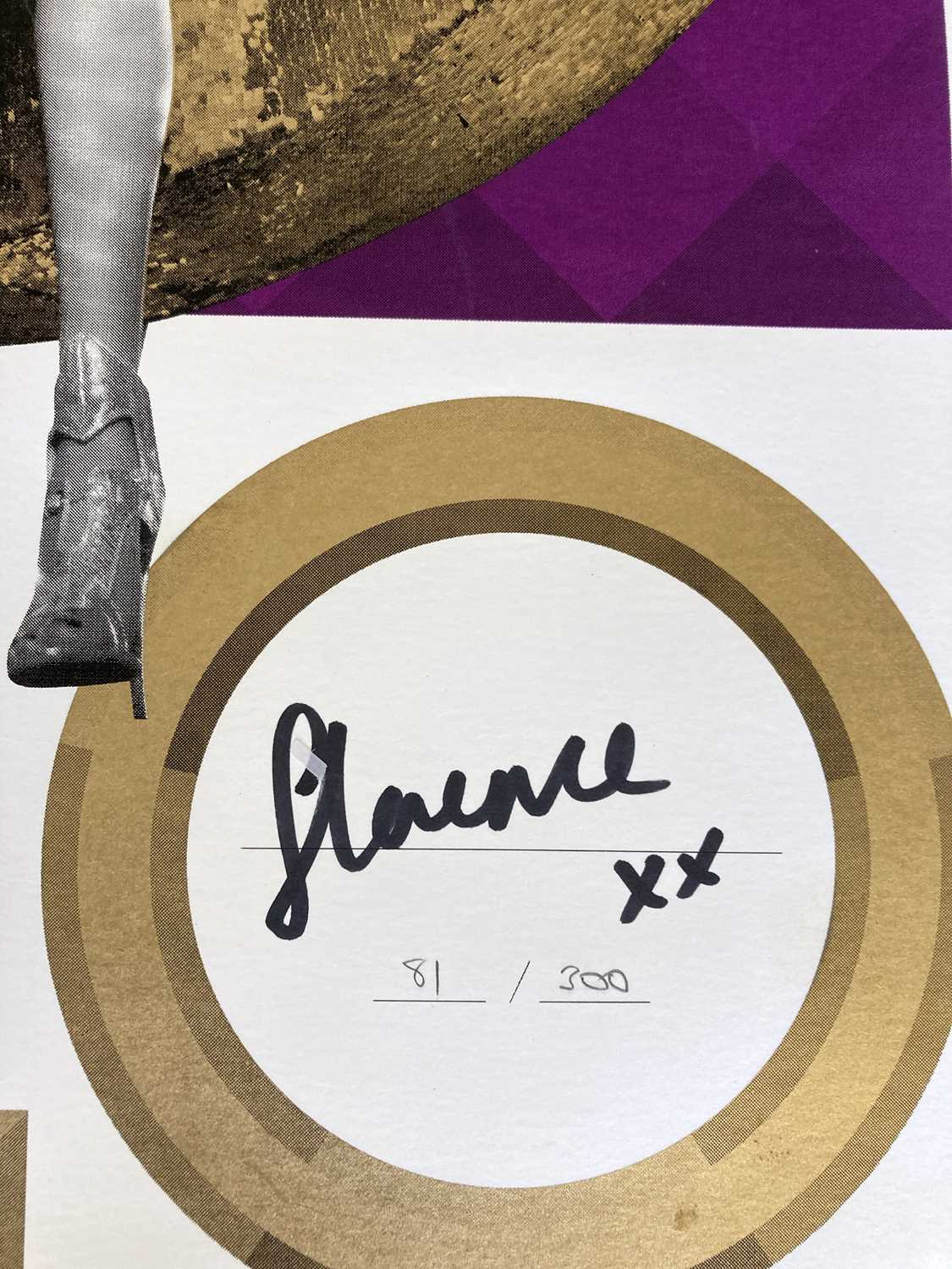 FLORENCE AND THE MACHINE LIMITED EDITION POSTERS. - Image 3 of 4