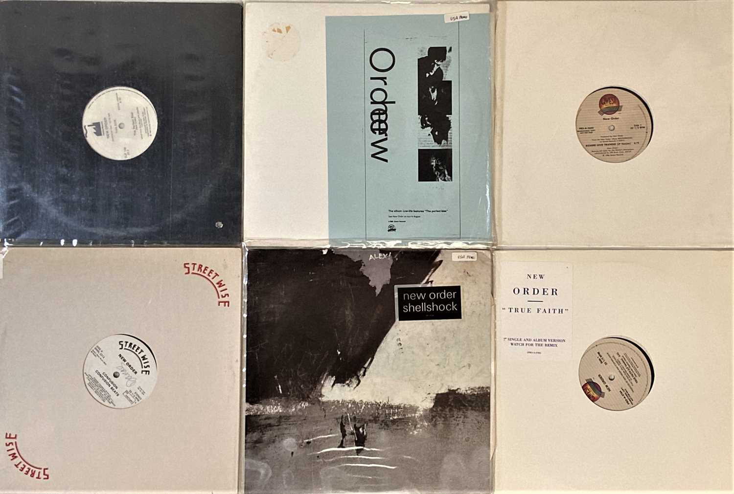 """NEW ORDER - US 12"""" PROMOS. - Image 2 of 2"""