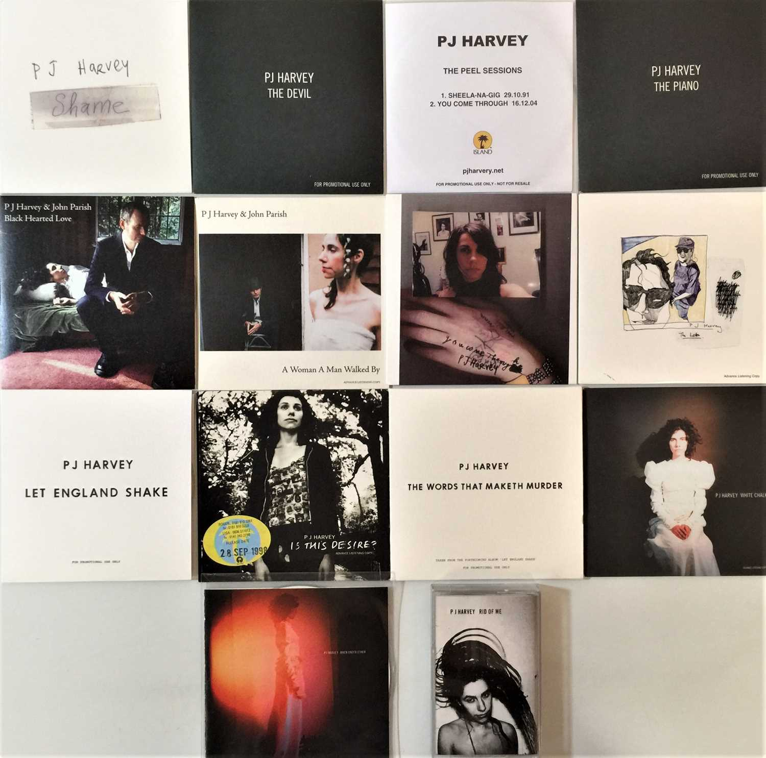 PJ HARVEY - CD COLLECTION (INC PROMOS) - Image 3 of 3