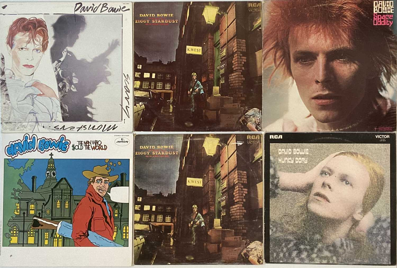 DAVID BOWIE - NORTH AMERICAN/ROW/PICTURE DISCS - LPs