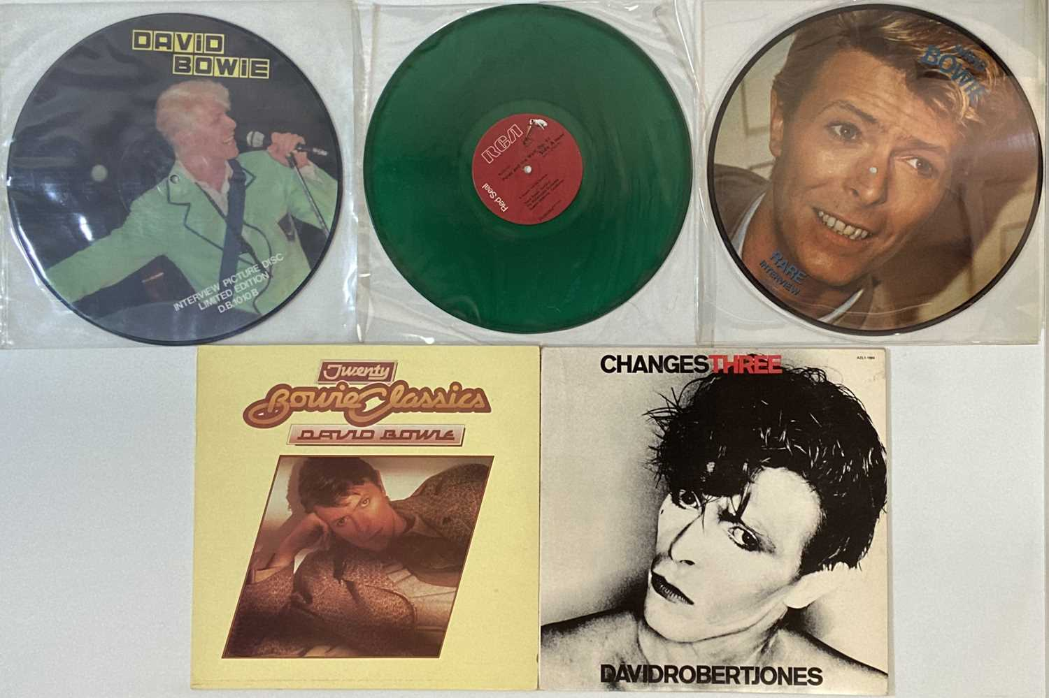DAVID BOWIE - NORTH AMERICAN/ROW/PICTURE DISCS - LPs - Image 2 of 4