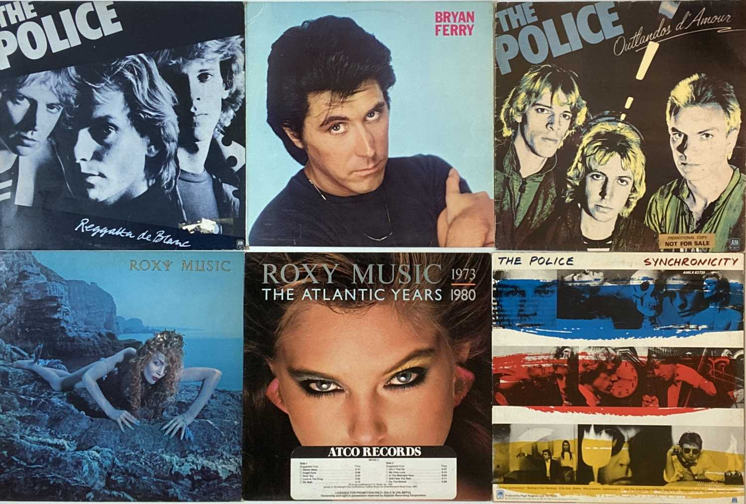 """PUNK/ WAVE/ COOL POP/ GLAM - LPs/ 12"""" - Image 6 of 6"""