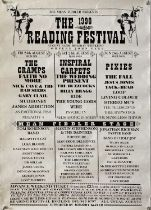 NED'S ATOMIC DUSTBIN - READING FESTIVAL 1990 POSTER.
