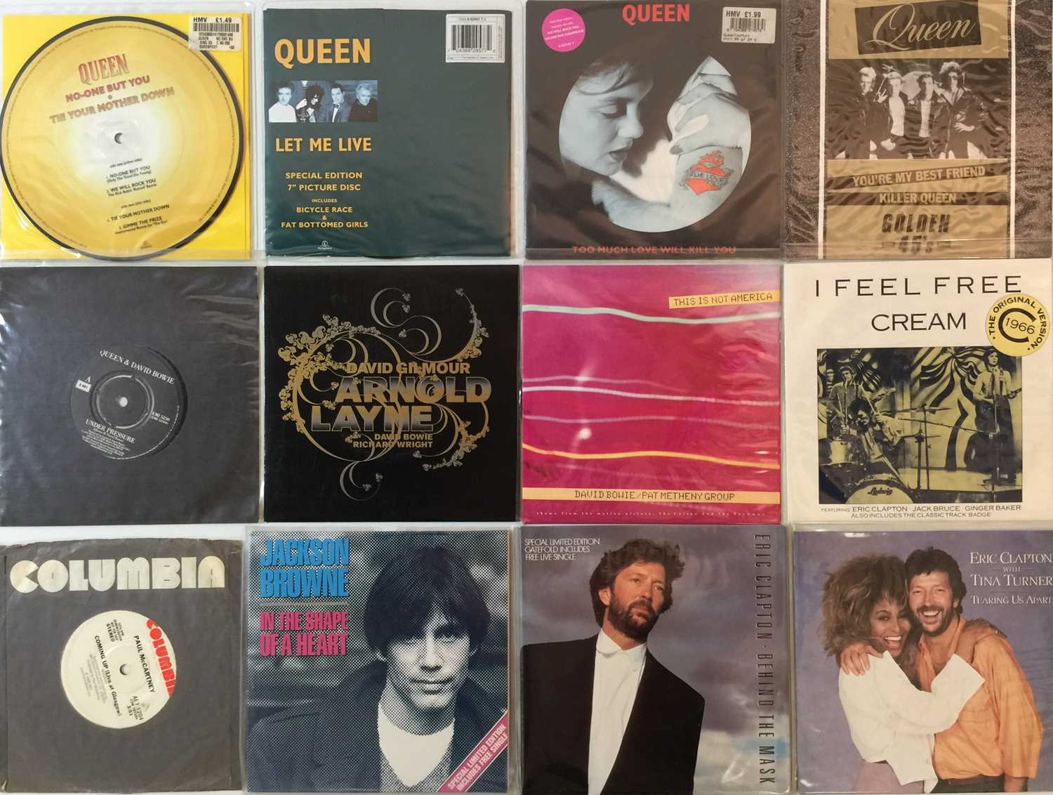 """CLASSIC ROCK & POP - 7"""" COLLECTION"""