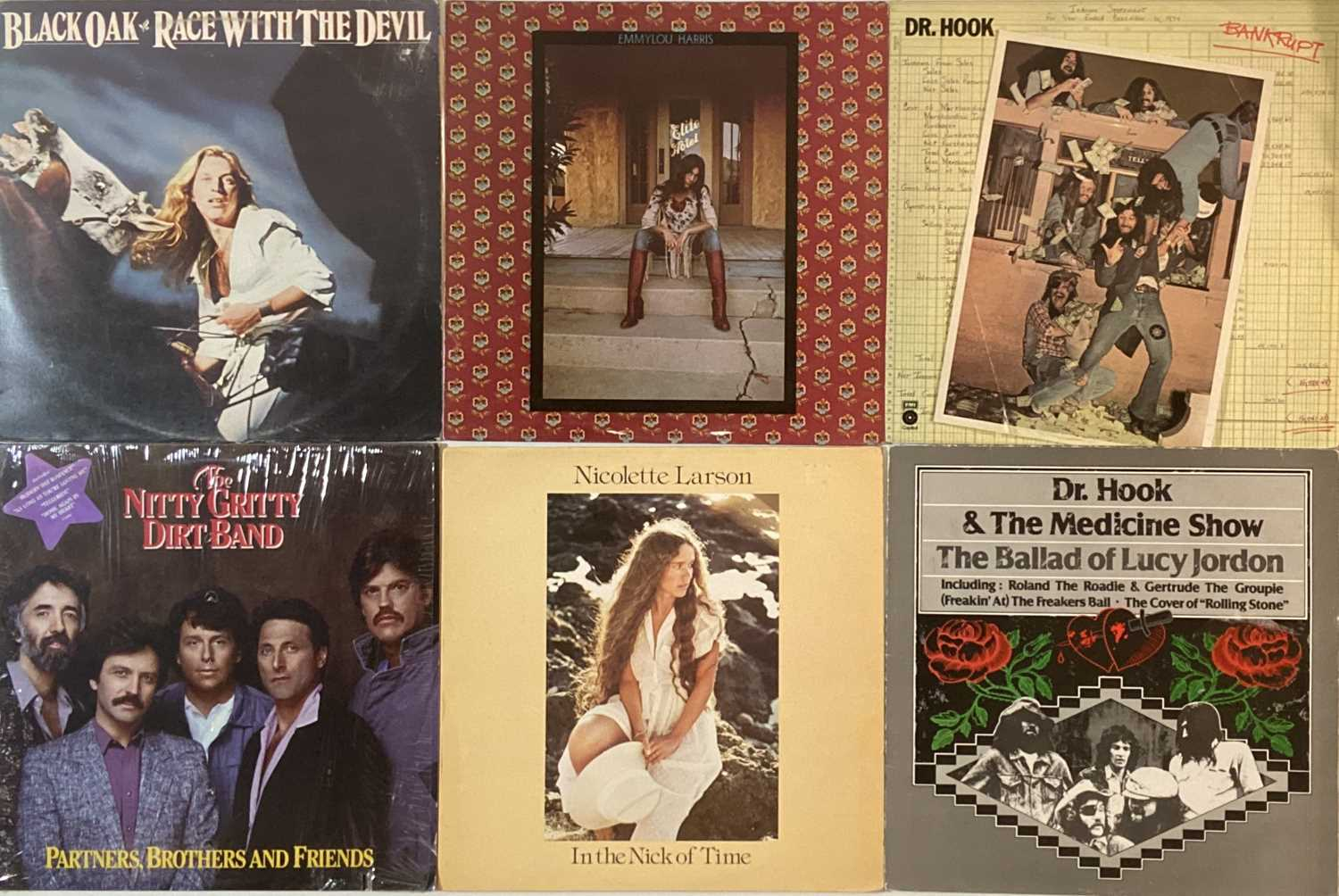 COUNTRY ROCK/R&R/AOR - LPs - Image 3 of 6