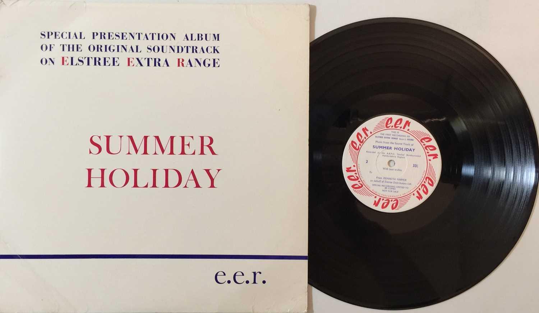 CLIFF RICHARD/ THE SHADOWS - SUMMER HOLIDAY LP (ELSTREE STUDIOS - RARE PROMO)