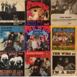 """THE WHO - 60s GERMAN PICTURE SLEEVE 7"""""""