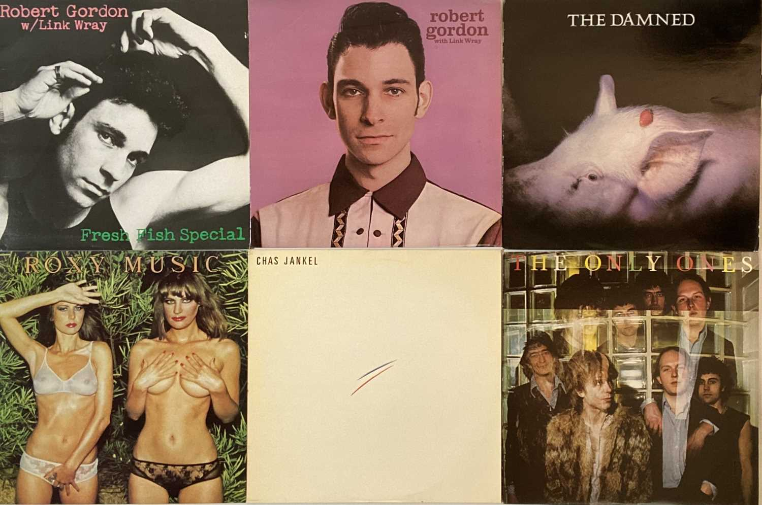 """PUNK/ WAVE/ COOL POP/ GLAM - LPs/ 12"""" - Image 2 of 6"""