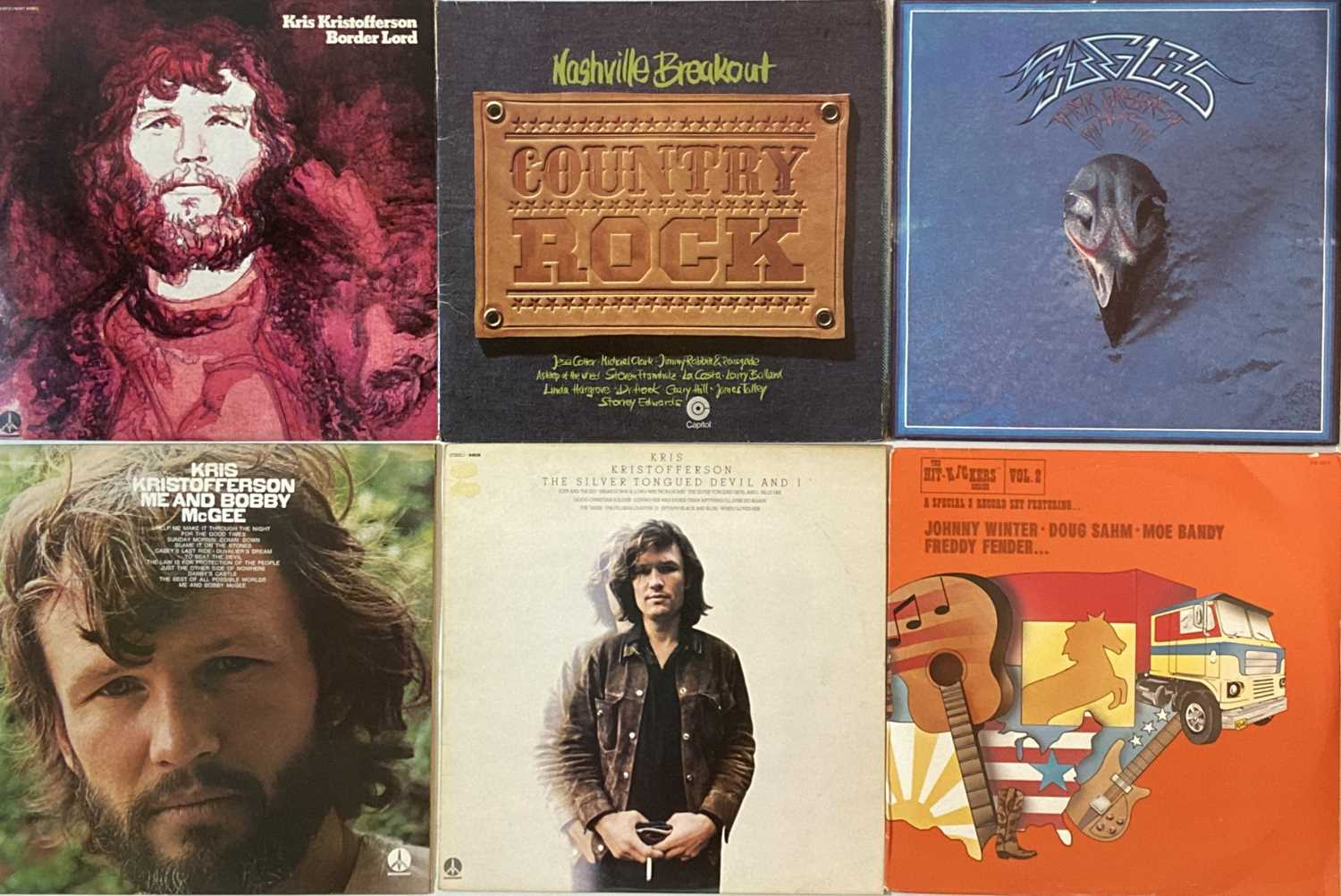 COUNTRY ROCK/R&R/AOR - LPs - Image 4 of 6