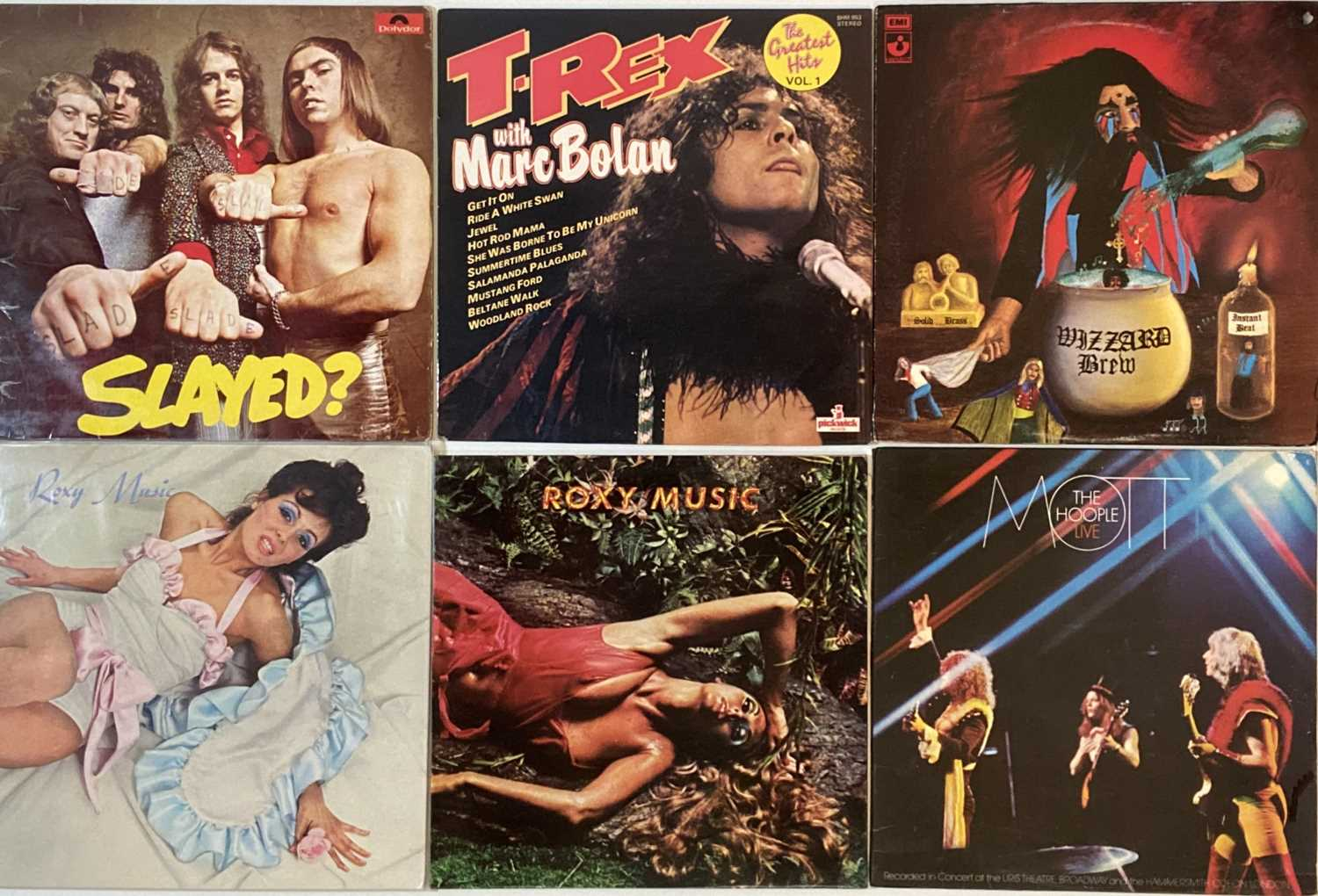 """GLAM - LP/7"""" COLLECTION"""