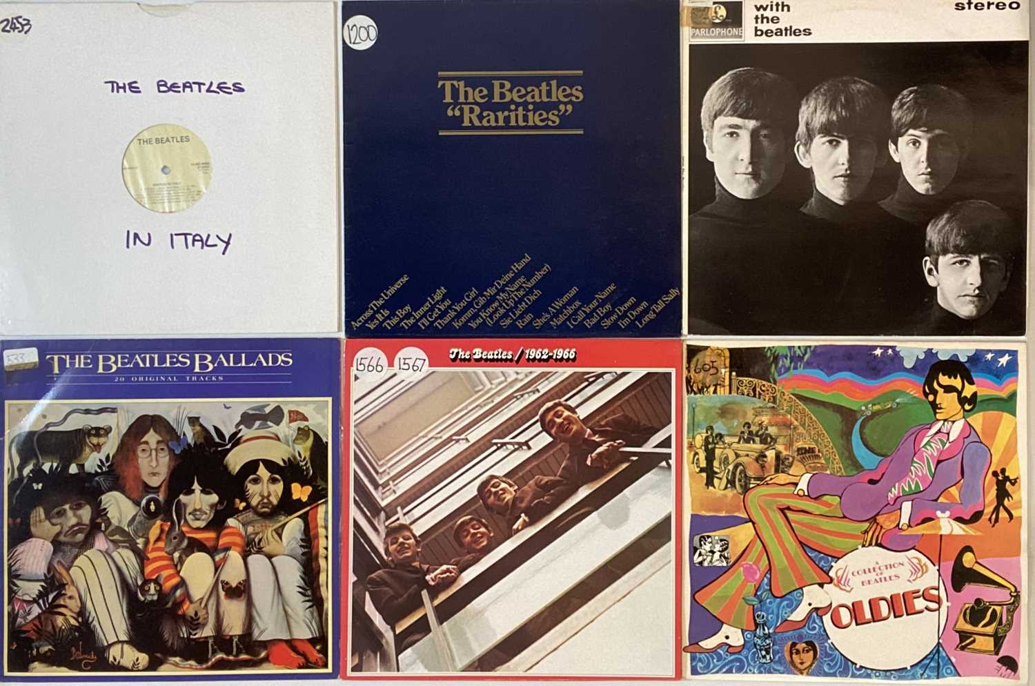 THE BEATLES/ THE ROLLING STONES AND RELATED LPs