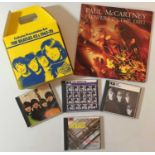 """THE BEATLES AND RELATED 7"""" & CDs"""