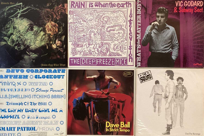 "ELECTRONIC/POWER POP/NEW WAVE/ART ROCK - LP/12""/7"""