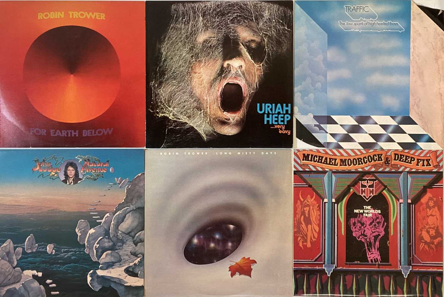 PROG/ PSYCH - LPs - Image 4 of 6