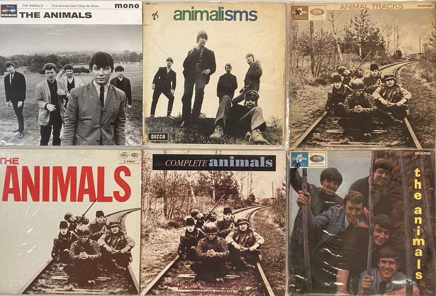 THE ANIMALS/ FACES/ SMALL FACES - LPs