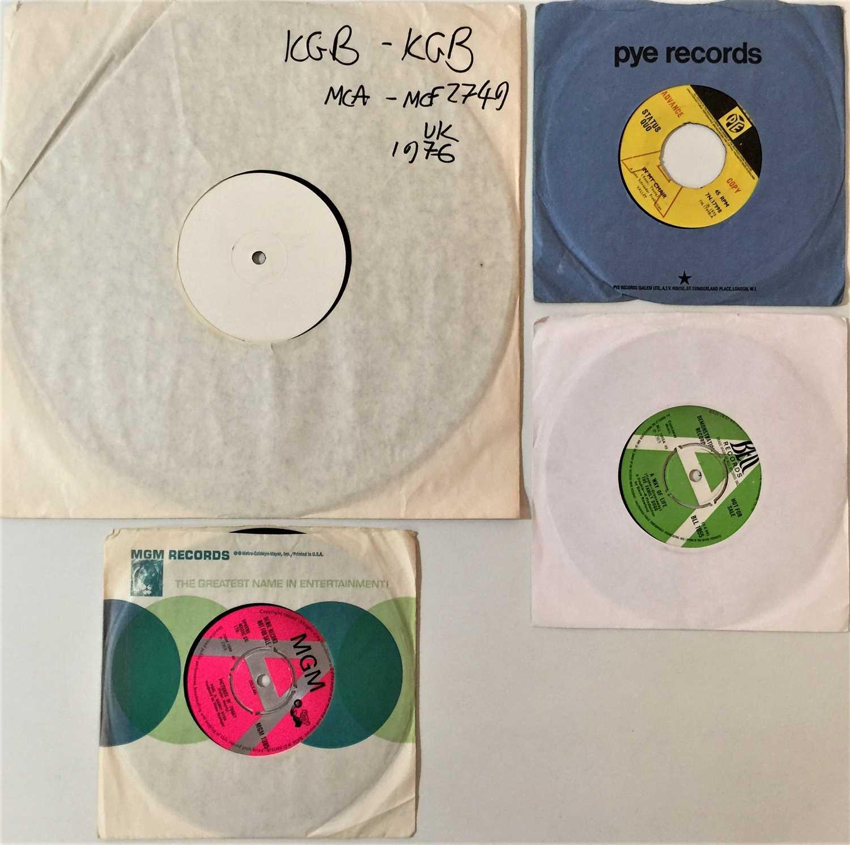 "ROCK/POP/PROG/FOLK-ROCK - 7"" DEMOS/LPs/WHITE LABEL LP."