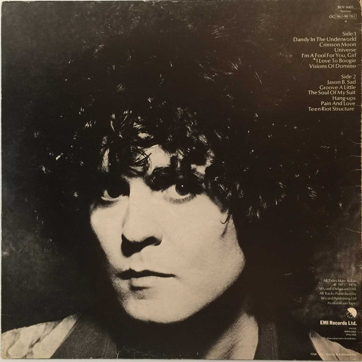T REX - DANDY IN THE UNDERWORLD LP - WITH PRE-RELEASE PROMO PACK - Image 2 of 5
