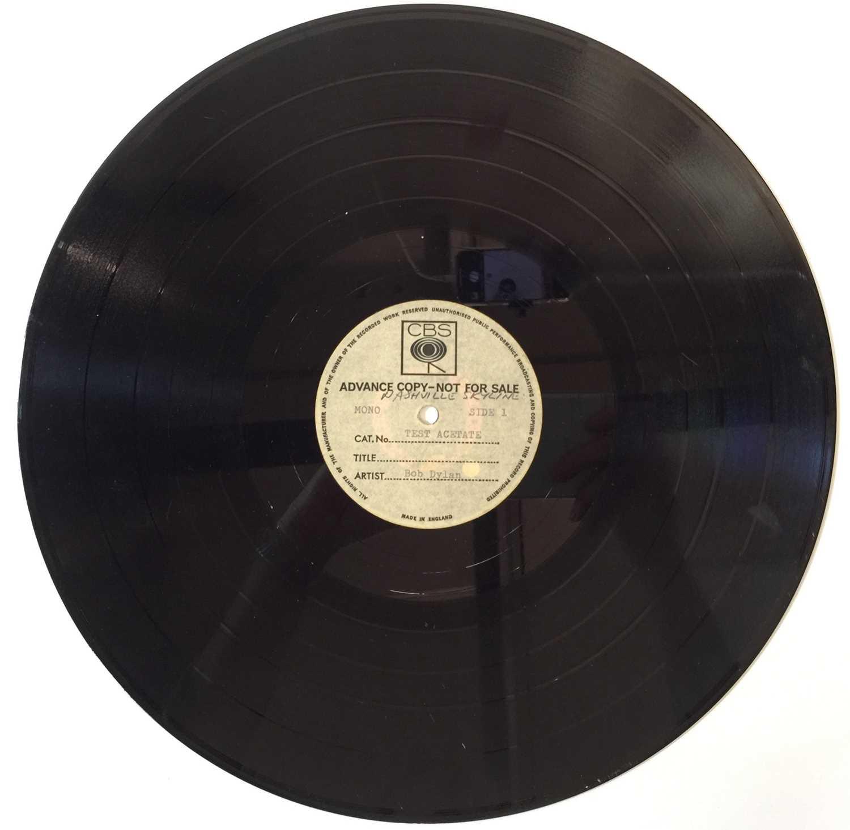BOB DYLAN - NASHVILLE SKYLINE - LP CBS ACETATE