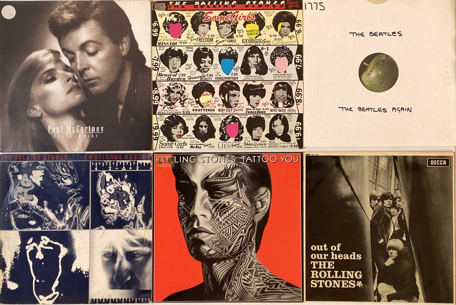 THE BEATLES/ THE ROLLING STONES AND RELATED LPs - Image 2 of 4