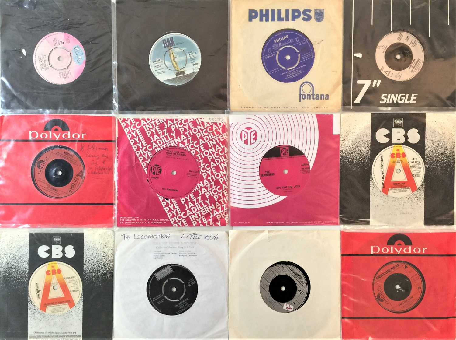 """60s/80s CLASSIC ROCK & POP 7"""" COLLECTION - Image 4 of 4"""