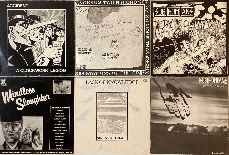 "PUNK/OI/NEW WAVE - LPs/12"""