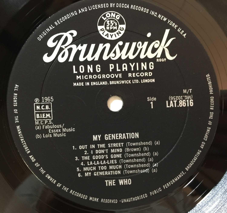 THE WHO - MY GENERATION LP (ORIGINAL UK PRESSING - BRUNSWICK LAT 8616 - Image 4 of 5