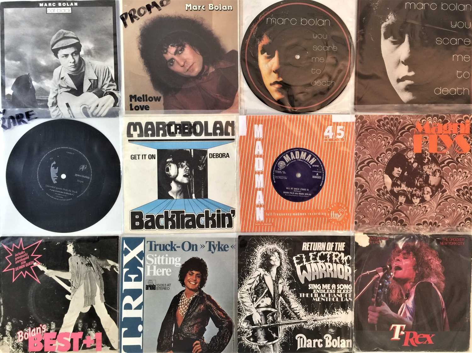 """GLAM - LP/7"""" COLLECTION - Image 6 of 6"""