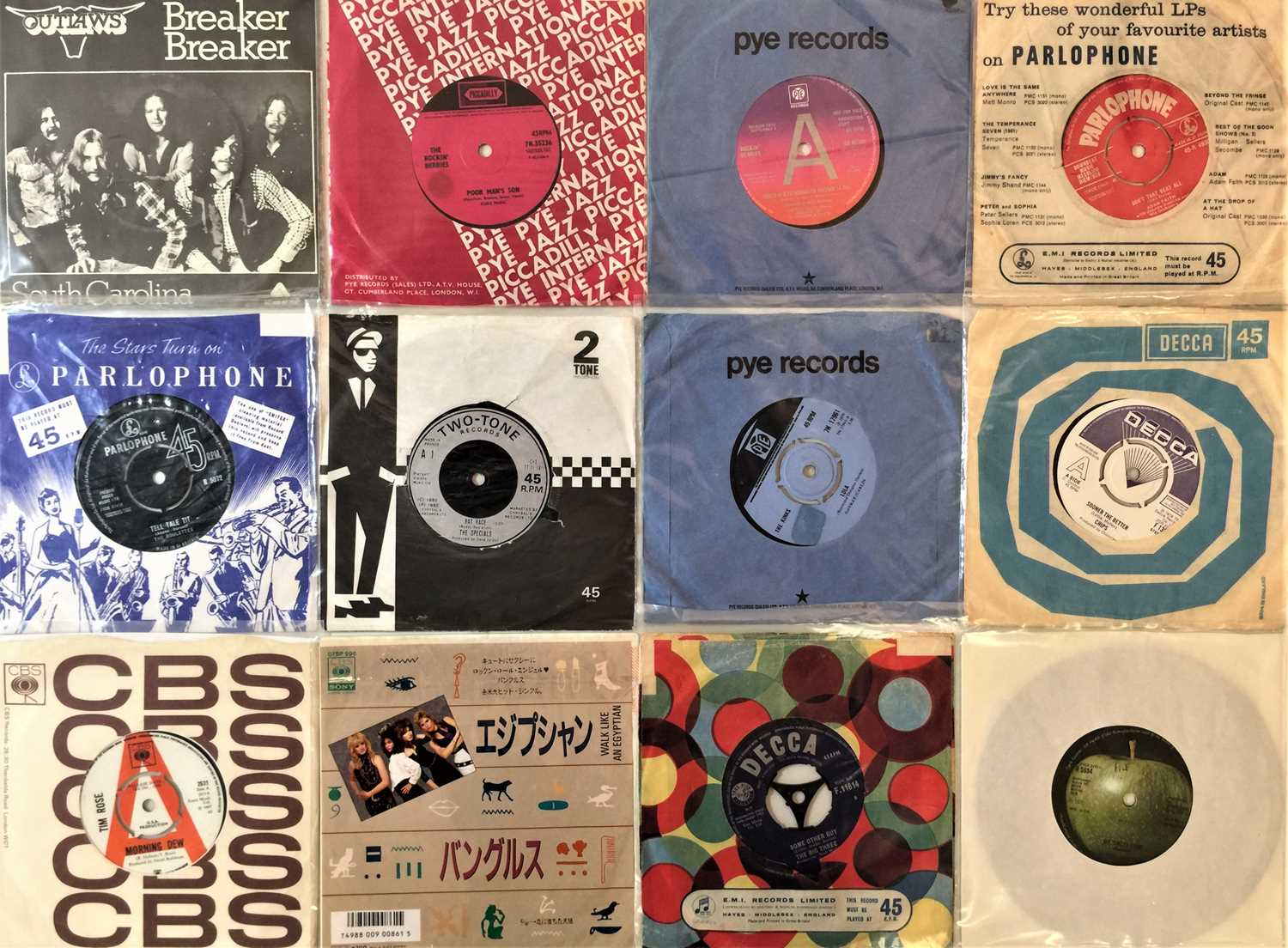 """60s/80s CLASSIC ROCK & POP 7"""" COLLECTION - Image 2 of 4"""