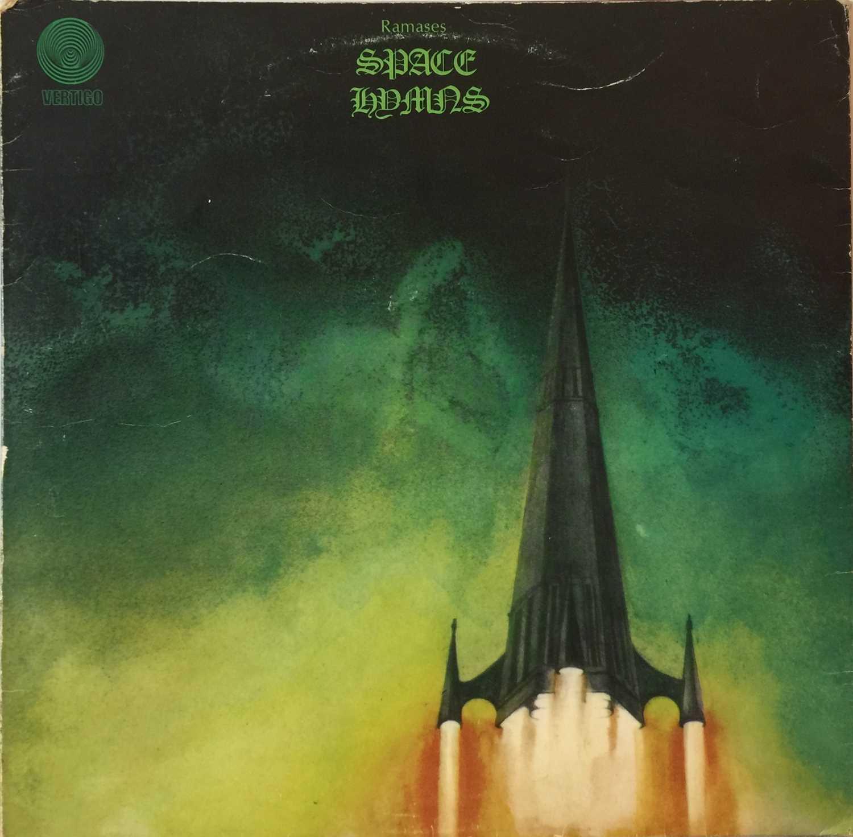 RAMASES - SPACE HYMNS SIGNED LP (UK VERTIGO SWIRL - 6360 046) - Image 2 of 6