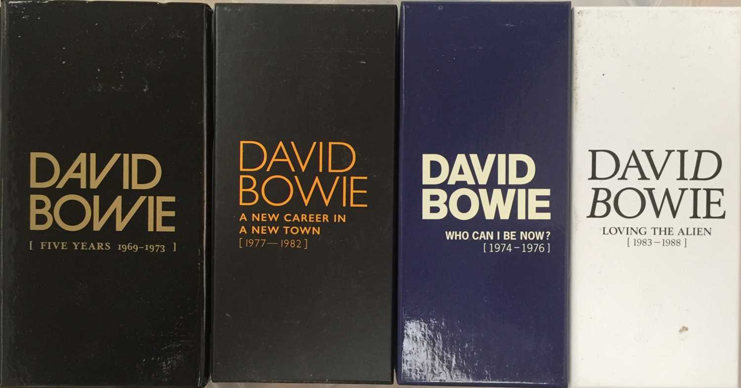 DAVID BOWIE - LIMITED EDITION CD BOX SET RELEASES - Image 2 of 8