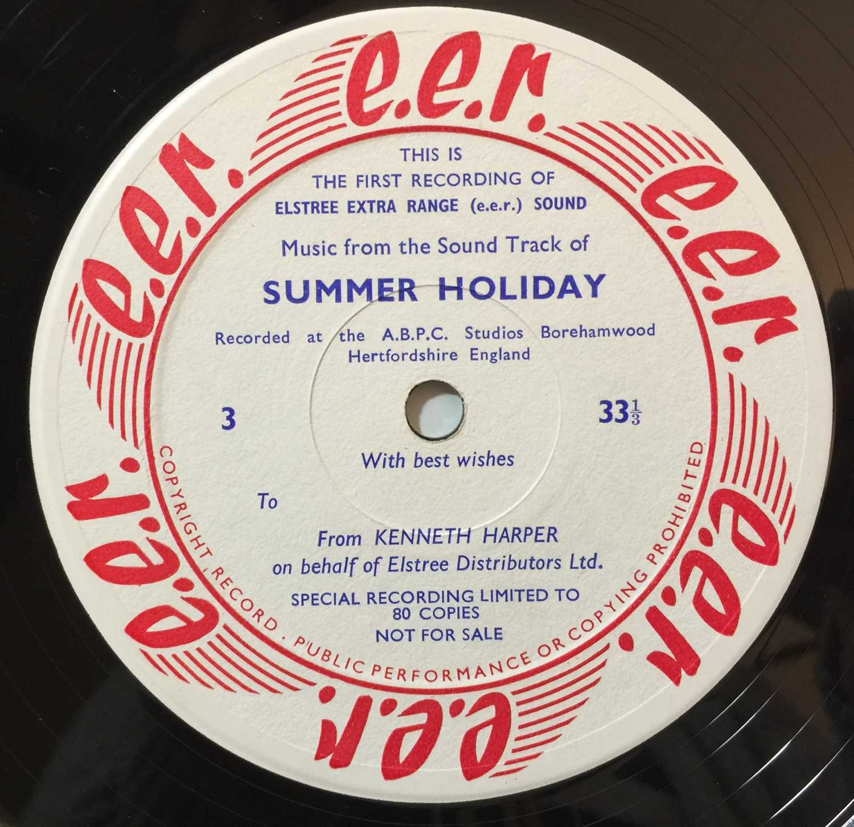 CLIFF RICHARD/ THE SHADOWS - SUMMER HOLIDAY LP (ELSTREE STUDIOS - RARE PROMO) - Image 6 of 8