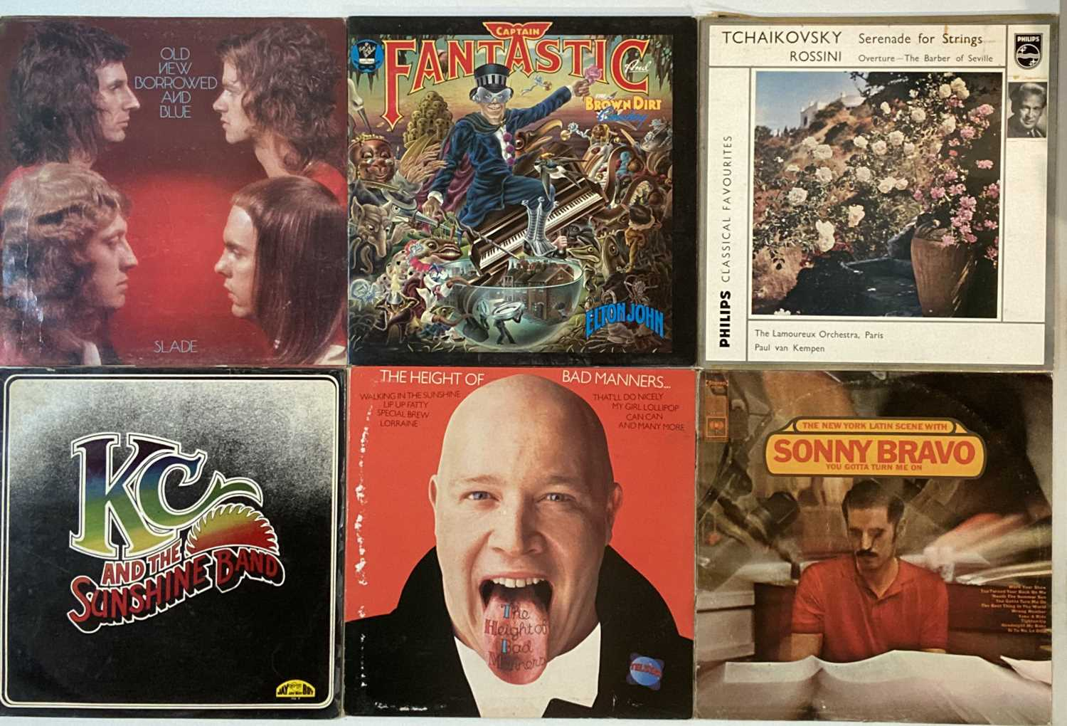 """CLASSIC ROCK AND POP - LPS AND 7"""". - Image 4 of 5"""