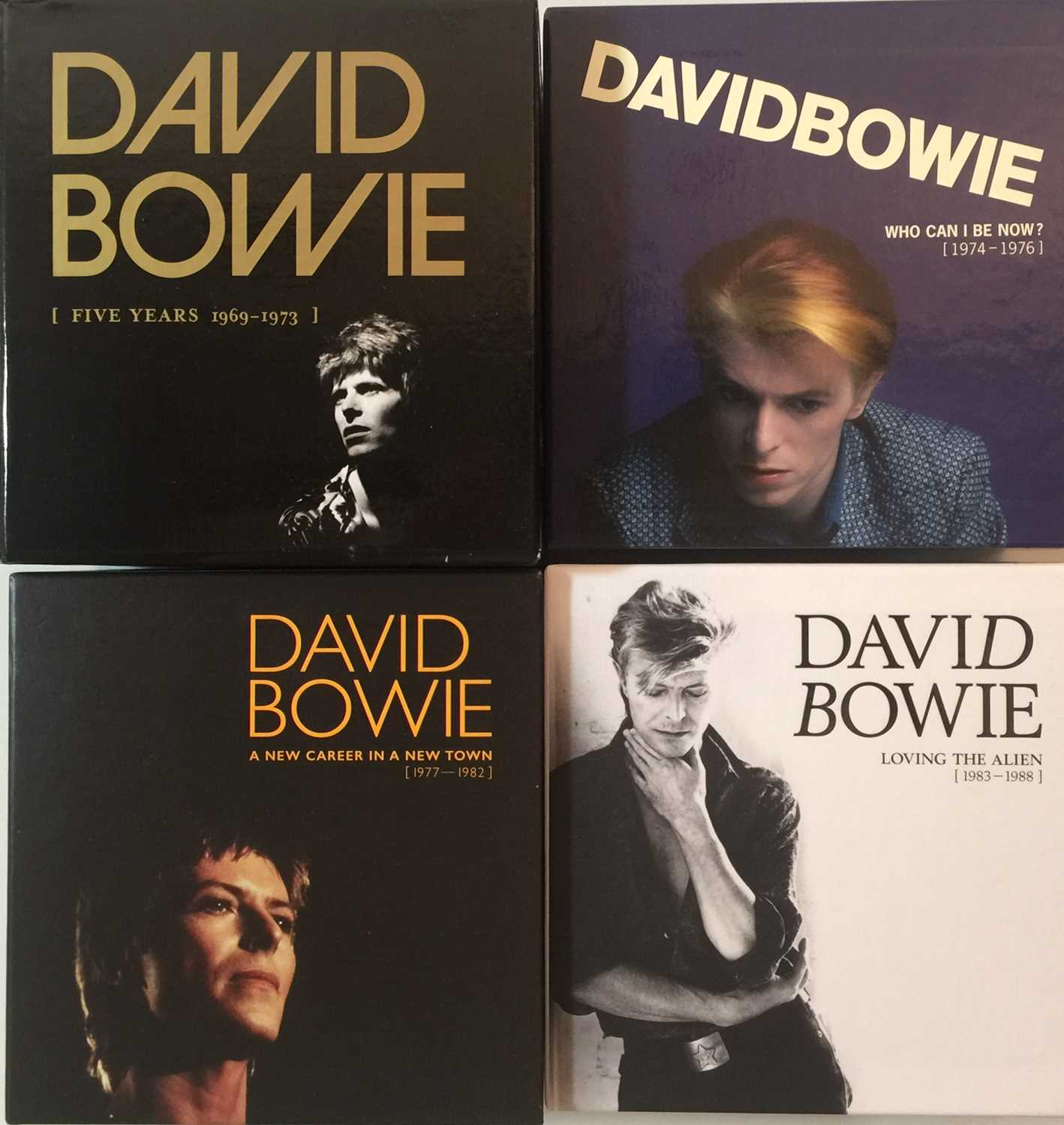 DAVID BOWIE - LIMITED EDITION CD BOX SET RELEASES - Image 3 of 8